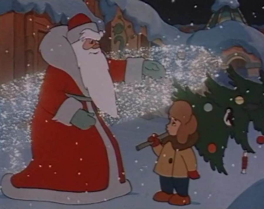 Мультфильмы про дед мороза и новый год