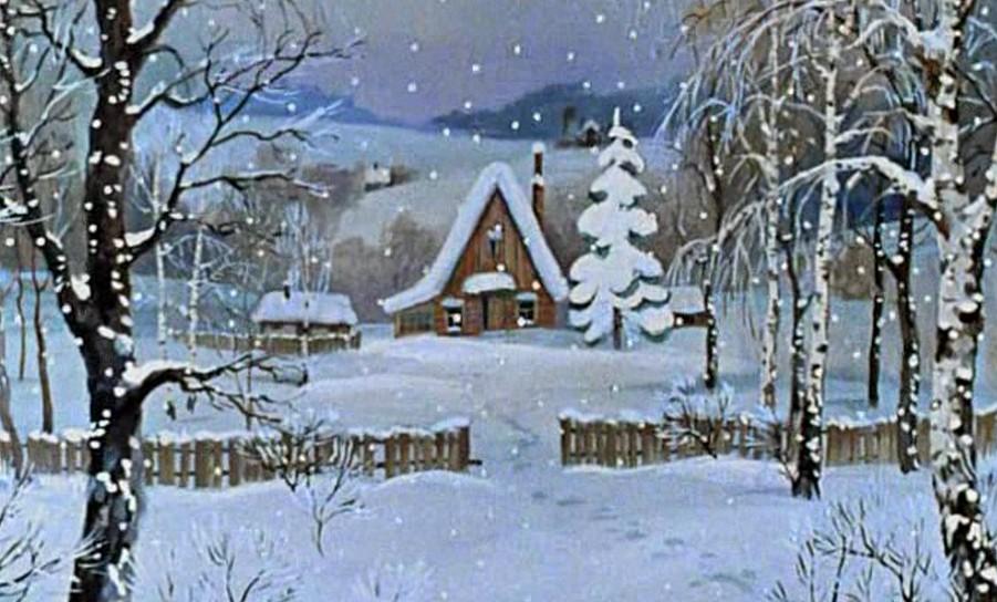 В простоквашино зимние приключения в